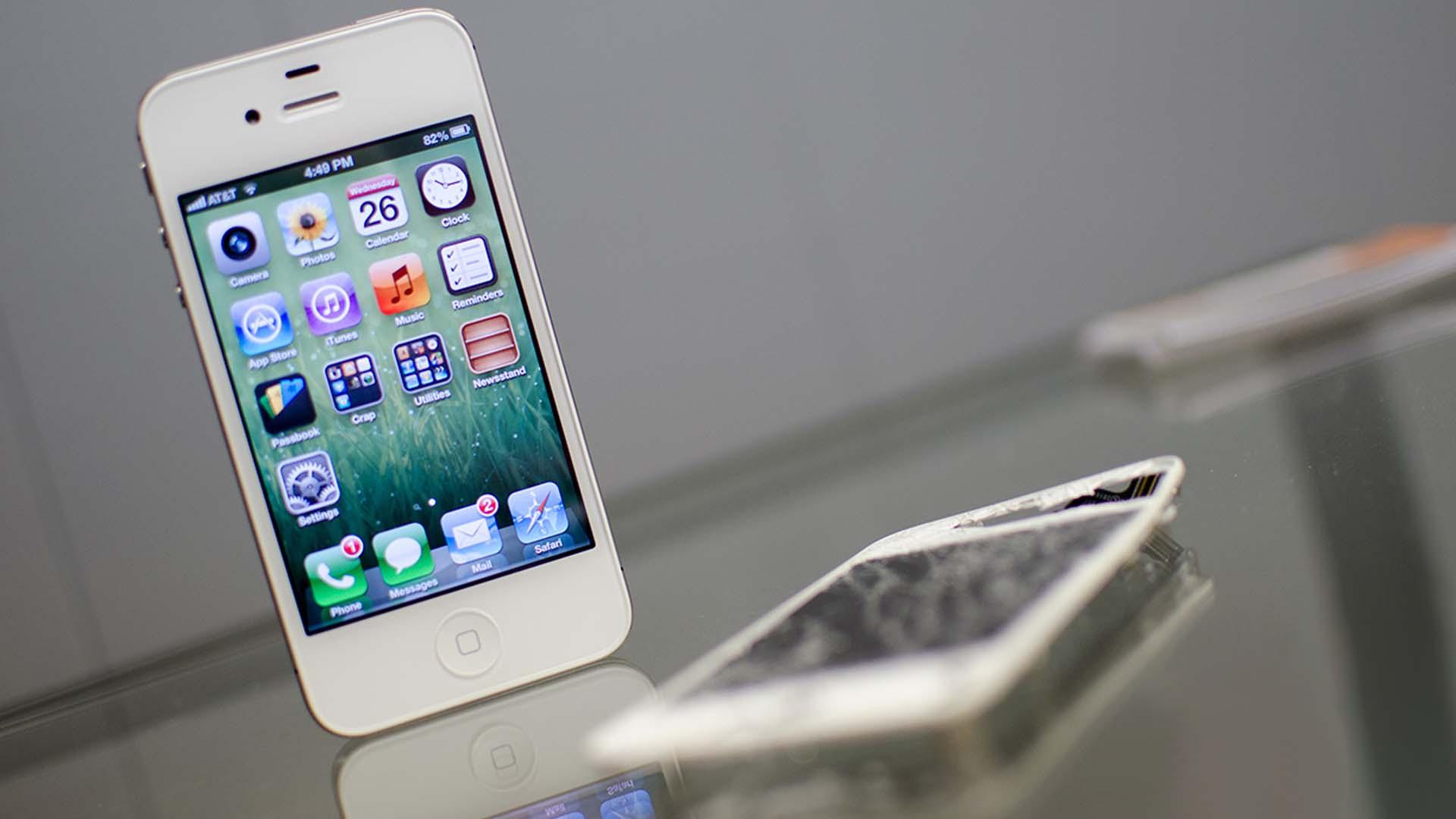 IPHONE SCREEN DAMAGE REPAIR
